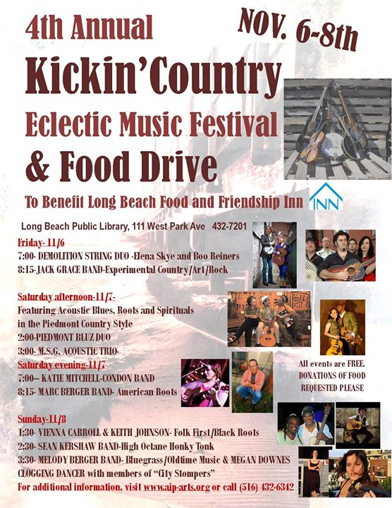 Kickin' Country Eclectic Music Festival
