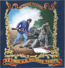 Flag_of_the_22nd_Regiment-Colored-Troops_United_States_Colored_Troops