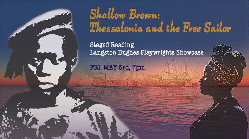 """Sat., May 3rd at 7pm, """"Shallow Brown"""" Reading at Langston Hughes Playwrights Showcase"""