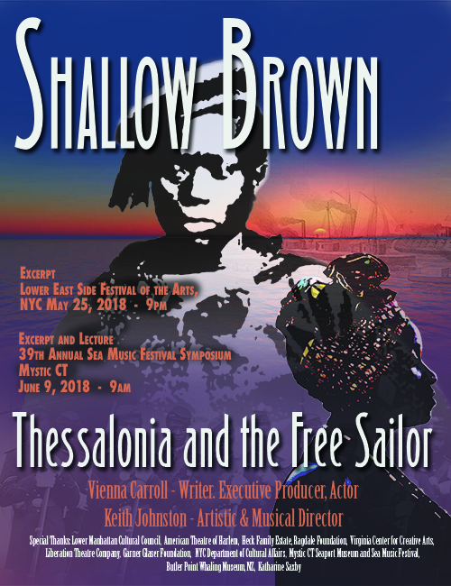 Shallow Brown, a play by writer Vienna Carroll