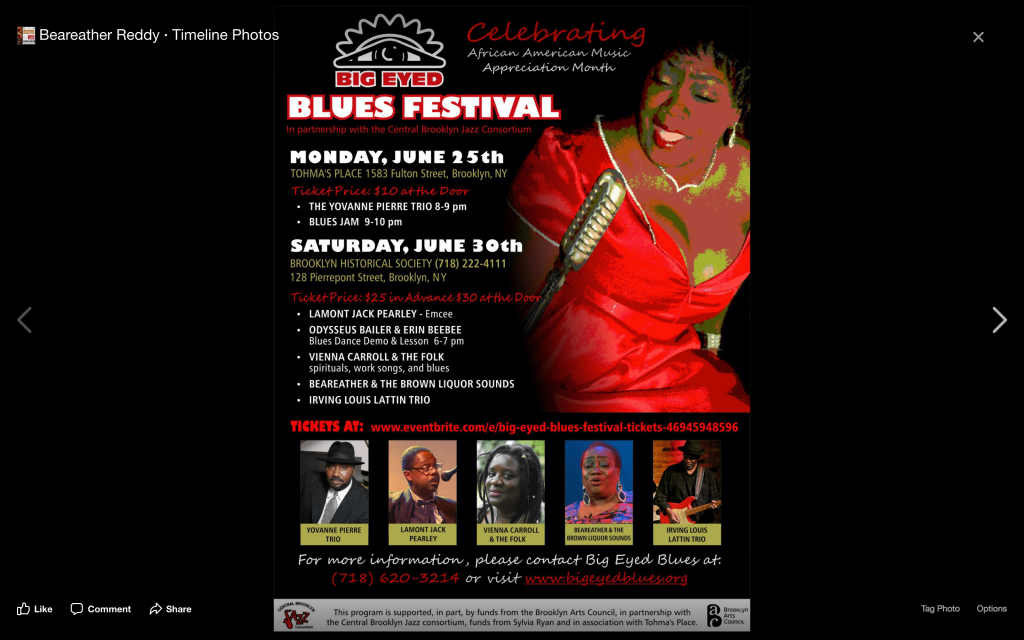 Big Eyed Blues Festival