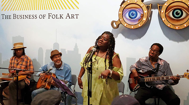 Vienna Carroll & Band at Folk Art Museum of NYC