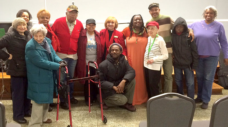 Vienna as Duo at Mt. Vernon Library with Audience
