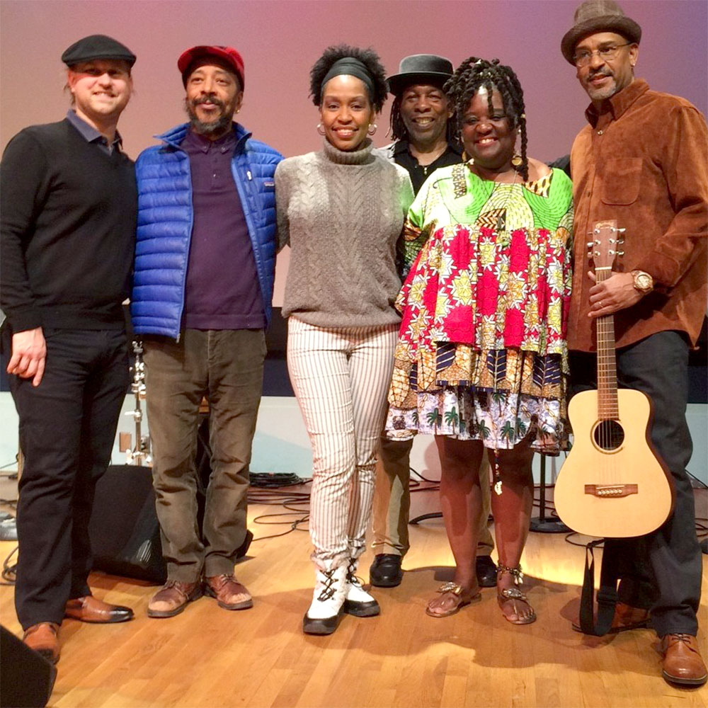 Vienna Carroll and Band at the Newark Museum